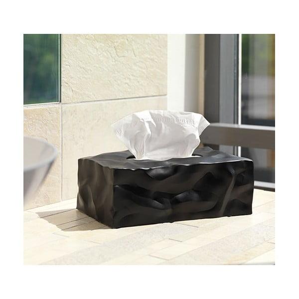 Pudełko na chusteczki Wipy II Czarne