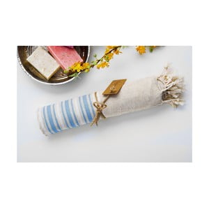 Ręcznik hamam Katre Blue, 100x180 cm
