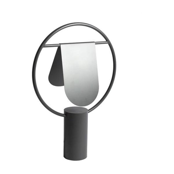 Lampa stołwa z metalu w szarej barwie HARTÔ Anae