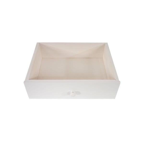 Komoda na nóżkach z 4 szufladami Vaasa White