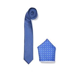 Zestaw krawata i poszetki Ferruccio Laconi 15