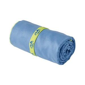 Niebieski ręcznik z mikrowłókna TINC Snorkel