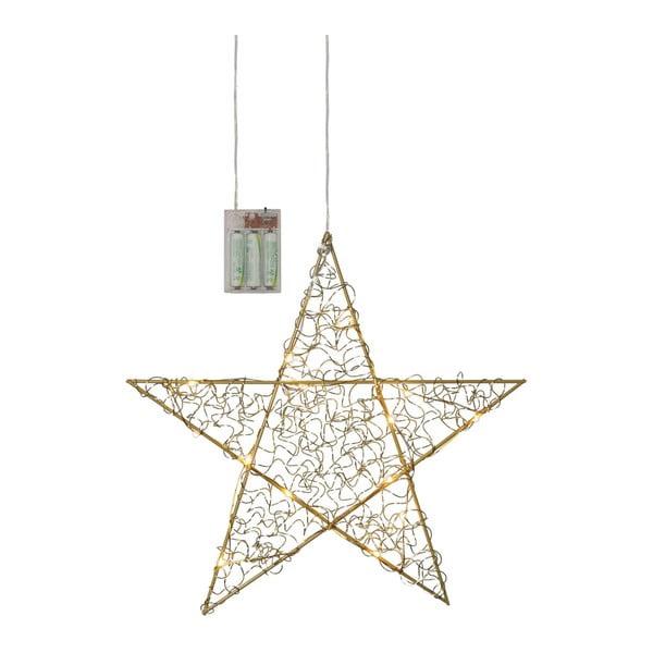 Wisząca dekoracja świetlna LED Best Season Loop Star Bras