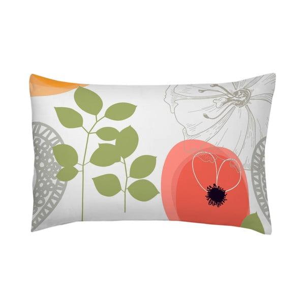 Poszewka na poduszkę Fleur Rojo, 70x90 cm