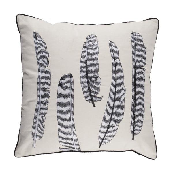Poduszka Zebra Feathers, 45x45 cm