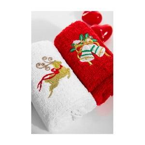 Zestaw 2 ręczników Deer Bell, 30x50 cm