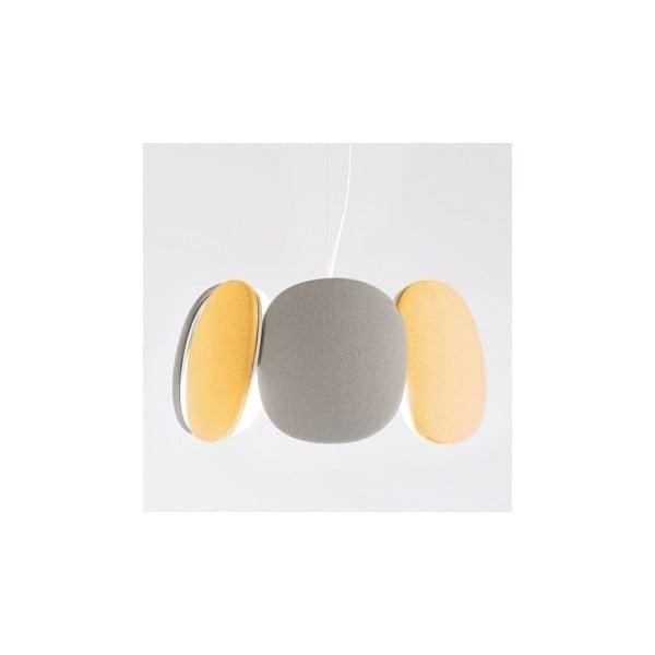 Lampa sufitowa Bloemi Goose Beak, pomarańczowy/ beżowy, 45 cm