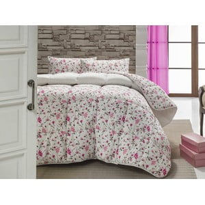 Narzuta pikowana na łóżko dwuosobowe Orla, 195x215 cm