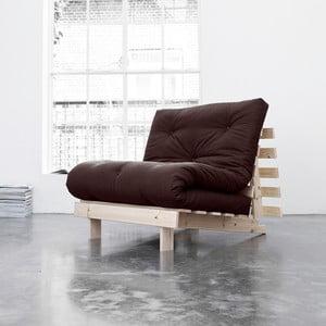Fotel rozkładany Karup Roots Raw/Brown