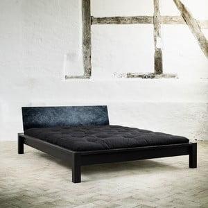 Łóżko Karup Tami Barok Black/Blue Flower
