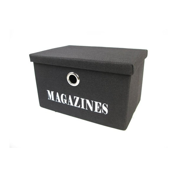 Organizer Magazines Black