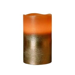 Brązowa świeczka LED Orange, 12,5 cm