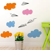 Naklejka Clouds and Planes, 28x31 cm