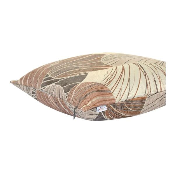 Brązowa poszewka na poduszkę Apolena Lina, 43x43 cm