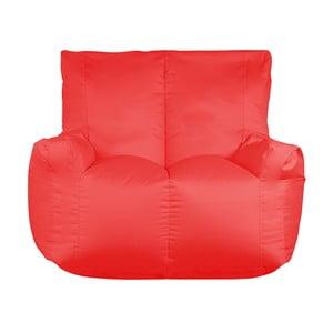 Czerwony worek do siedzenia dwuosobowy Sit and Chill Coron