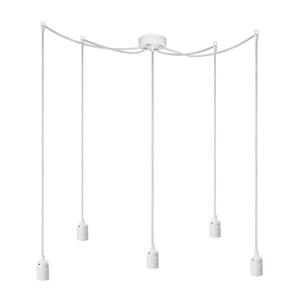 Lampa sufitowa pięcioczęściowa  BI Elementary, biała/biała/biała