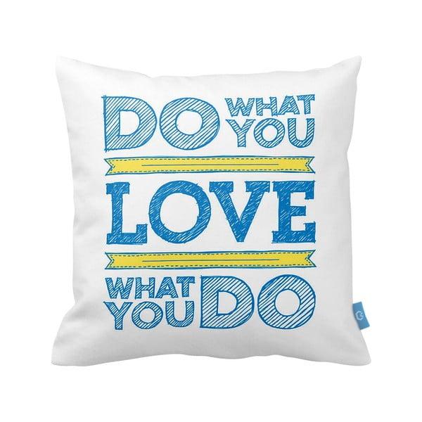 Poduszka Do Love, 43x43 cm