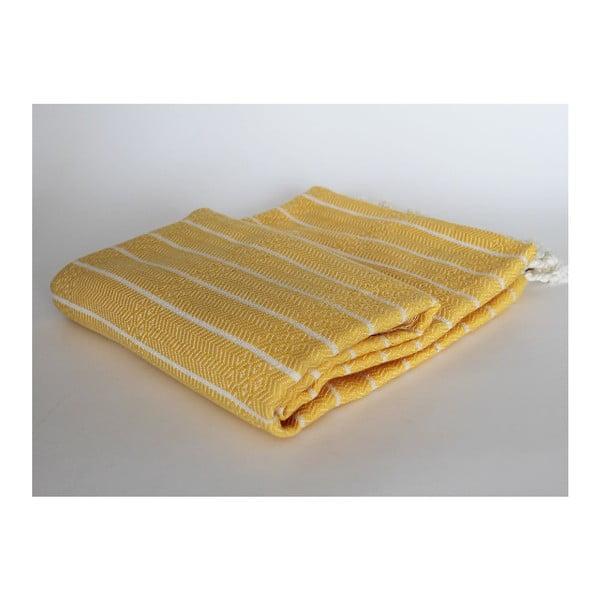 Peshtamal Gocek Yellow, 100x175 cm