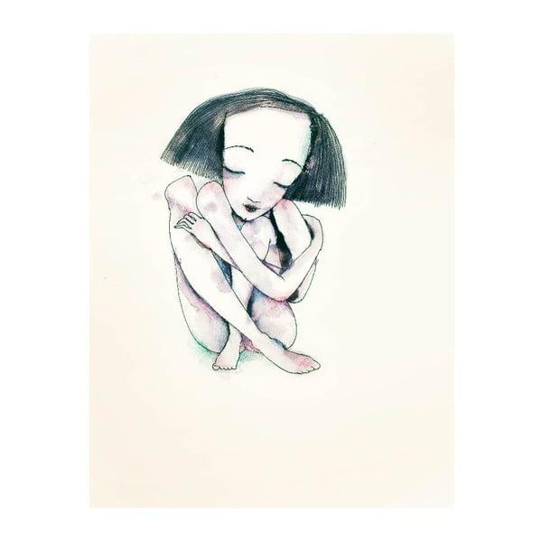 Plakat autorski: Léna Brauner Panna Savoy, 60x75 cm