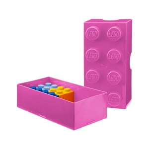 Różowy pojemnik na śniadanie LEGO®