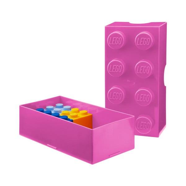 Różowy pojemnik śniadaniowy LEGO®