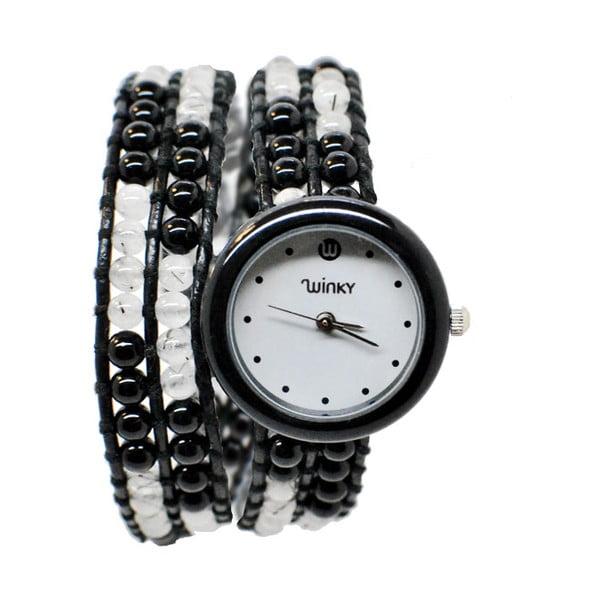 Zegarek z koralikami Double, Black Mojito