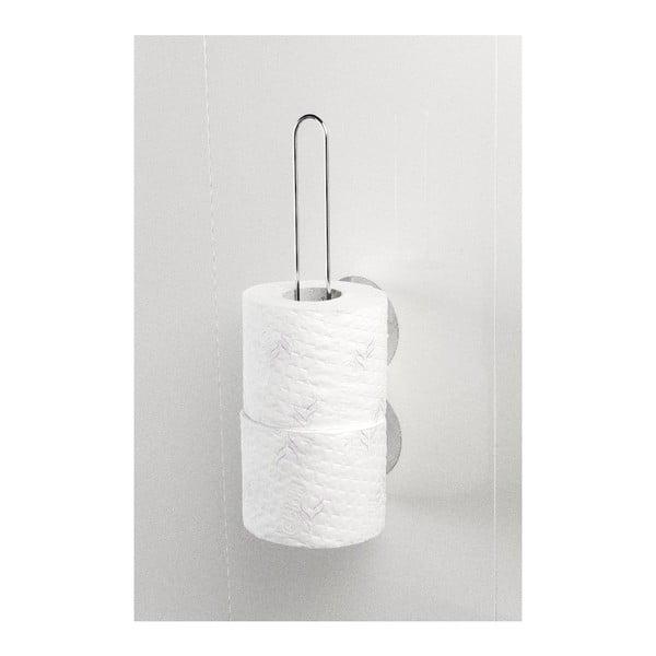 Uchwyt na papier toaletowy z przyssawkami Static-Loc, do 8 kg