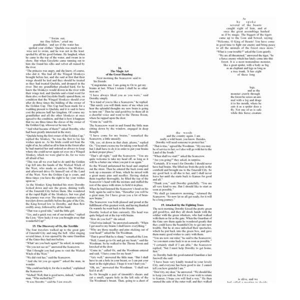 "Plakat ""Czarnoksiężnik z Krainy Oz"" (tytuł), 50x70 cm"
