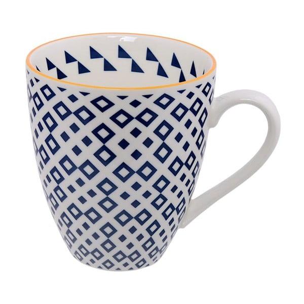 Porcelanowy kubek Geo Blue, 8,7x9,8 cm