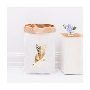 Papierowy kosz Origami Katze Gold