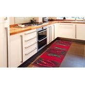Wysoce wytrzymały dywan kuchenny Webtapetti Peperoncini, 60x110 cm