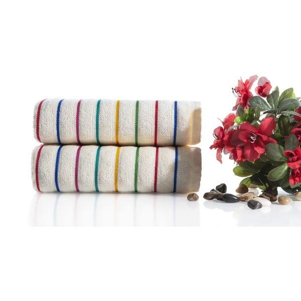Zestaw 2 ręczników Rosy V1, 50x90 cm