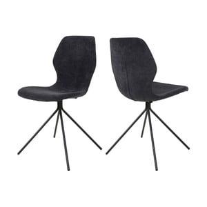 Czarne krzesło Canett Tristian