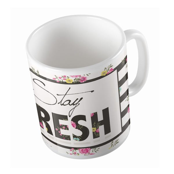 Ceramiczny kubek Stay Fresh, 330 ml