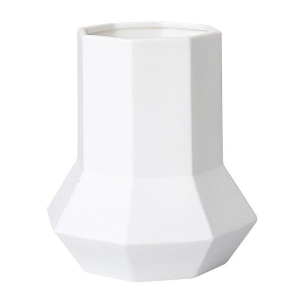 Wazon ceramiczny Geometric White
