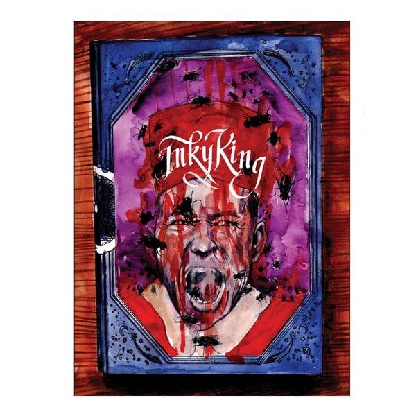 """Plakat autorski Toy Box """"Inky King"""", 60x80 cm"""