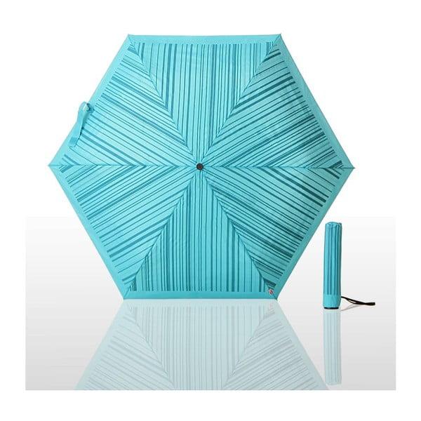 Parasol składany Waterlock, niebieski