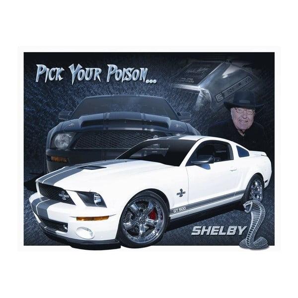 Blaszana tabliczka Shelby, 30x40 cm