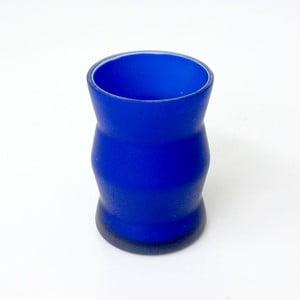 Pojemnik Blue Glass, 8x11x8 cm