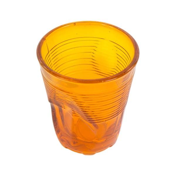 Zestaw 6 szklanek Kaleidos 225 ml, pomarańczowy