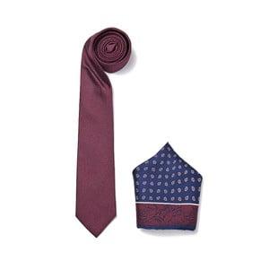 Zestaw krawata i poszetki Ferruccio Laconi 10