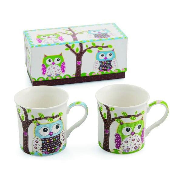Zestaw 2 kubków Teatime Owl