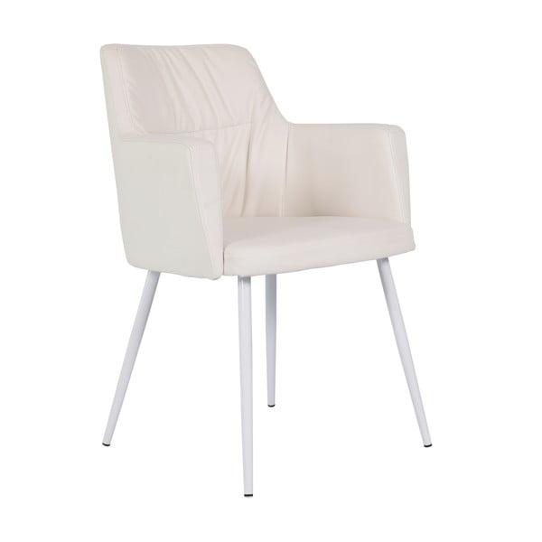 Kremowe krzesło do jadalni RGE Mars