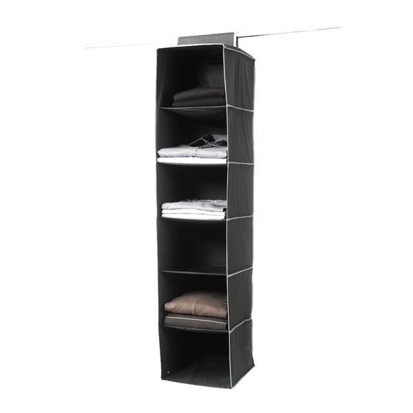 Organizer tekstylny Compactor Garment So Black 6 Rack