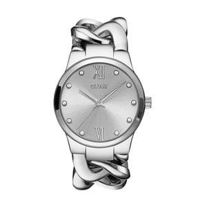 Zegarek damski Elegante Stone Silver, 38 mm