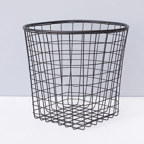 Metalowy kosz Black Basket