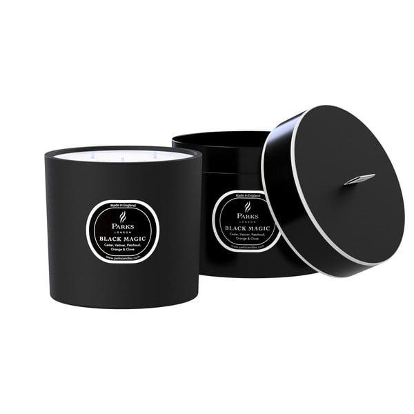 Świeczka o zapachu paczuli i cedru Magic Candles, 80 h palenia