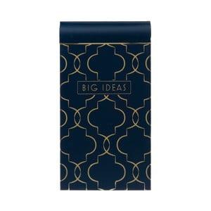 Bloczek Navy Blush, niebieski