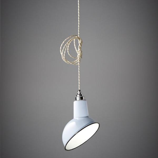 Lampa wisząca Miniature Angled Cloche White