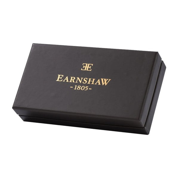 Zestaw pióra kulkowego i spinek do mankietów Thomas Earnshaw Silver